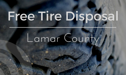 Free Tire Collection and Disposal in Lamar County