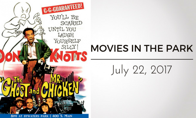 """Movies in the Park presents """"The Ghost and Mr. Chicken"""" Tonight"""