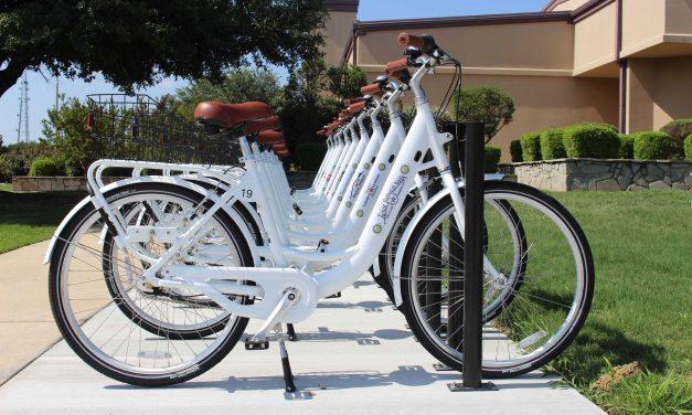 New Bike Kiosk Ready to Roll for Summer