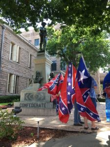 Confederate Flags - Monument