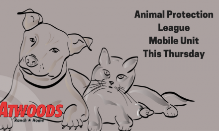 Animal Protection League Mobile Unit at Atwoods on Thursday