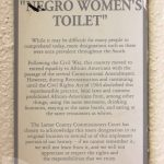 """Take our poll – What should happen to the """"Negro"""" Bathroom Signs in the courthouse?"""