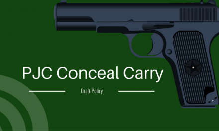 The PJC Conceal Carry Draft Policy is Open for Comments