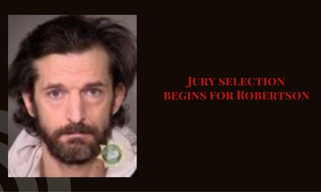 Jury selection begins for Donald Jack Robertson