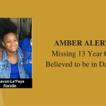 Missing 13 year old from Lancaster, Texas – Amber Alert