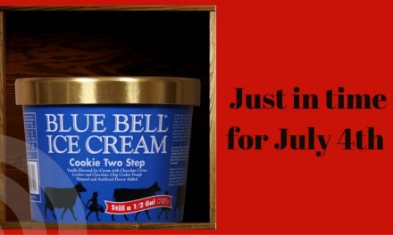 Texas Blue Bell brings back the Cookie Two Step