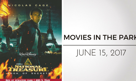 "Movies in the Park presents ""National Treasure"" This Thursday"