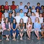 PJH students inducted into National Junior Honor Society