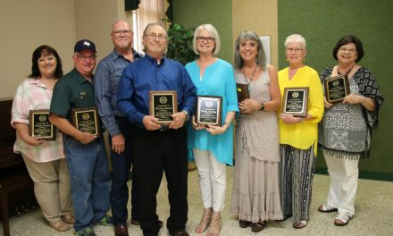 Paris Junior College Honors Retiring Employees