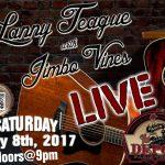Lanny Teague and Jimbo Vines tonight at The Depot