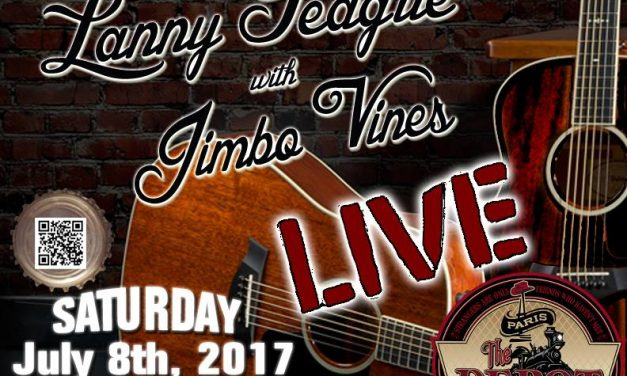 Lanny Teague and Jimbo Vines tonight at The Depot