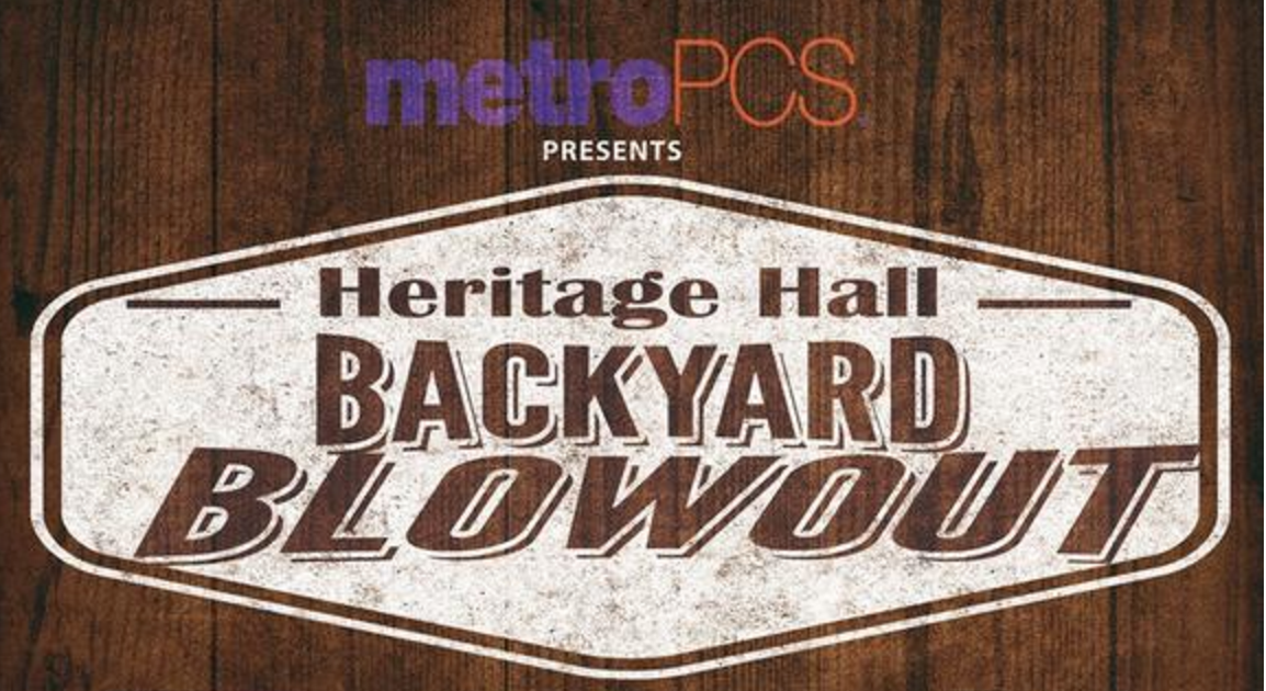"Heritage Hall presents ""Backyard Blowout"" in September"