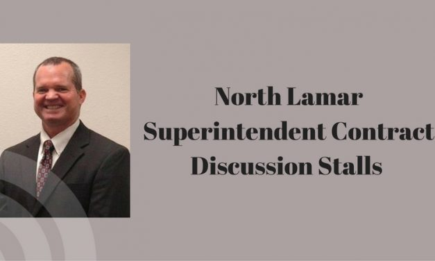 North Lamar Superintendent contract stalls at last night's meeting