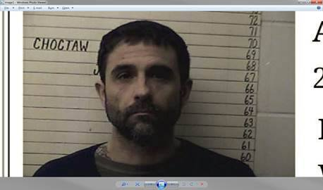 Inmate Escapes from Choctaw County Jail