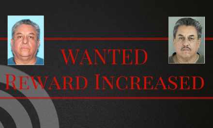Reward Increased in Search for High Risk Sex Offender