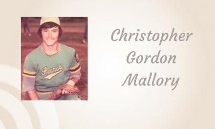 Christopher Gordon Mallory of Paris