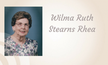 Wilma Ruth Stearns Rhea of Paris