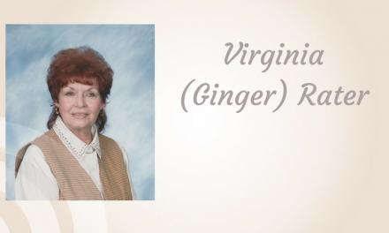 Virginia (Ginger) Rater