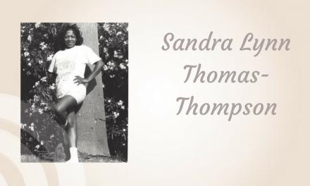Sandra Lynn Thomas-Thompson of Plano/Cooper