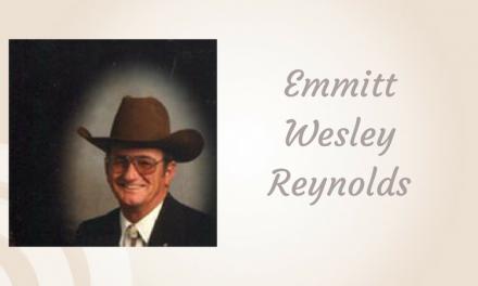 Emmitt Wesley Reynolds of Paris