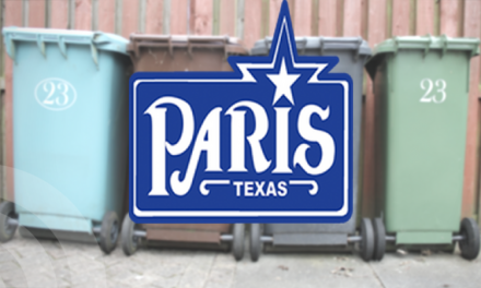 City of Paris Sanitation Department Schedule for Labor Day