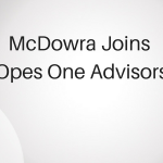 McDowra joins Opes One Advisors