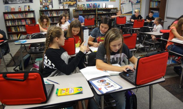 Chisum Middle School makes use of new Chromebooks