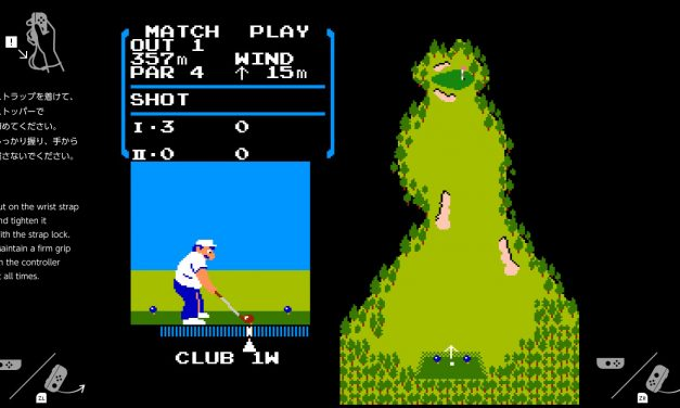 Hidden Golf game built into the Nintendo Switch pays tribute to late Nintendo President
