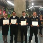 Prairiland FFA students bring home highest degree from FFA Convention