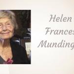 Helen Frances Mundinger of Paris