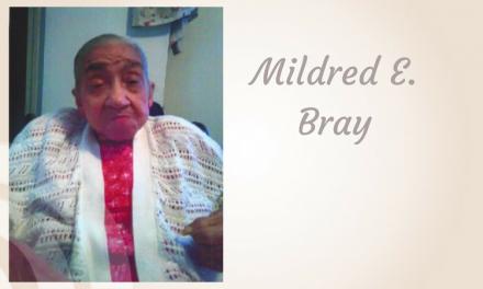 Mildred E. Bray, 85, of Hugo