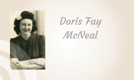 Doris Fay McNeal of Paris