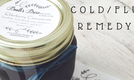 Natural Cold/Flu Remedy: Elderberry Syrup from Booth's Brew
