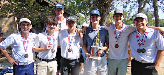 Paris High School Places Third at McKinney Golf