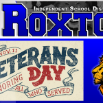 Roxton extends invitation for Veterans Day Service