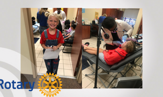 Rotary brings Blossom Elementary Healthy Smiles