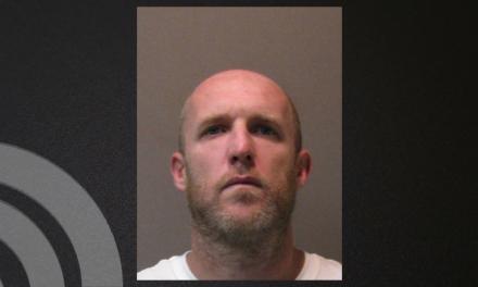 Arrest made after burglar caught on the scene