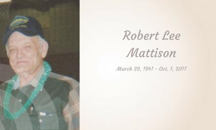 Robert Lee Mattison of Paris