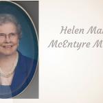 Helen Marie McEntyre Merritt