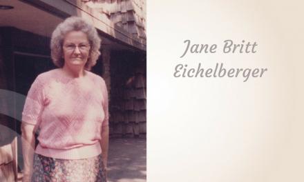 Jane Britt Eichelberger of Paris