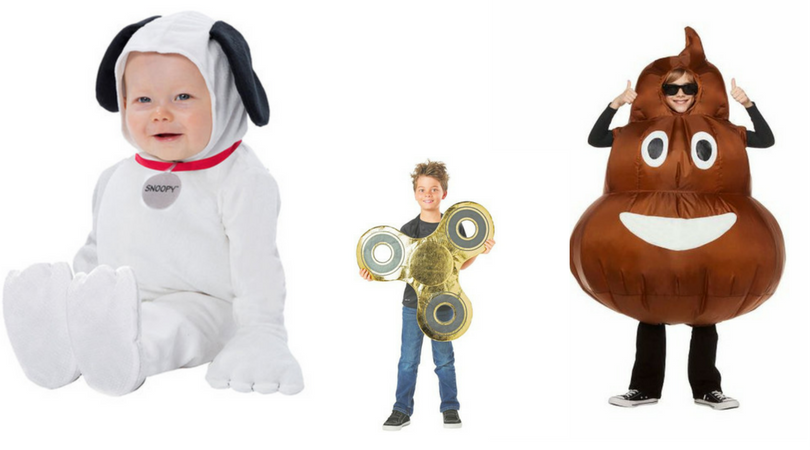 Top 2017 Kid Costumes for Halloween – Trolls, Emojis and more