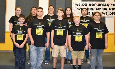 All-Region Choir named at Stone Middle School
