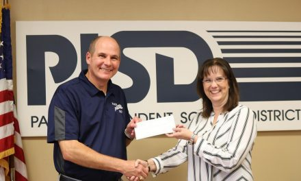 Donation received from First Federal Community Bank