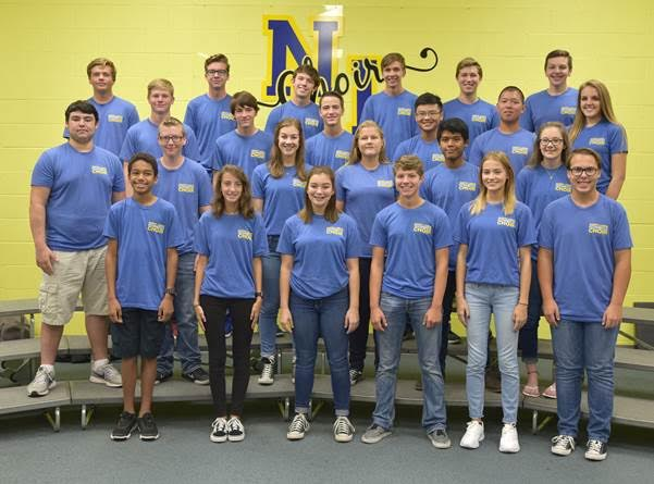 North Lamar High School choir members selected for All-Region