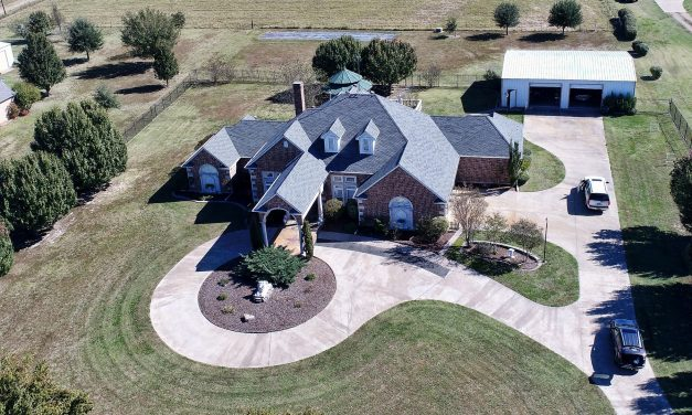 Luxury country home for sale in Northeast Texas