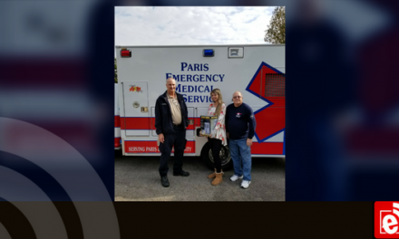 Paris EMS Buys and Donates Heaters to Meals on Wheels