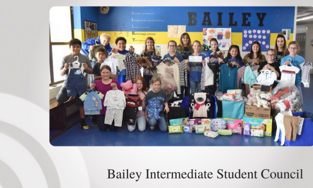 Bailey students help Rainbow Room