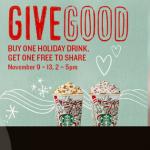 Starbucks gives back during #ShareEvent, BOGO drinks
