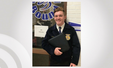 Paris High School FFA student competes in area competition