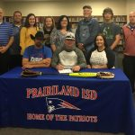 Patriots stand-out pitcher accepts early signing scholarship